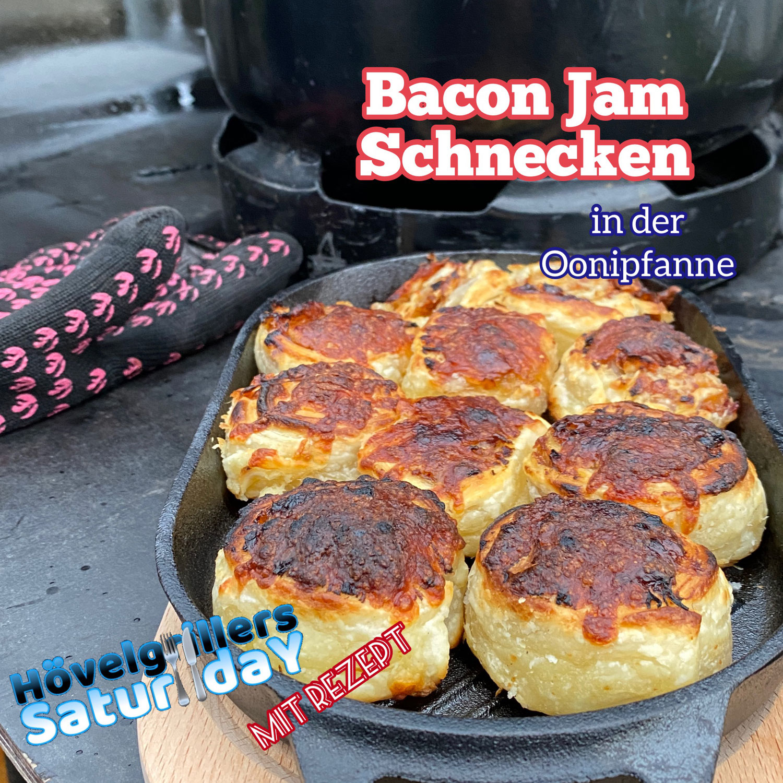 Bacon Jam Schnecken (30)