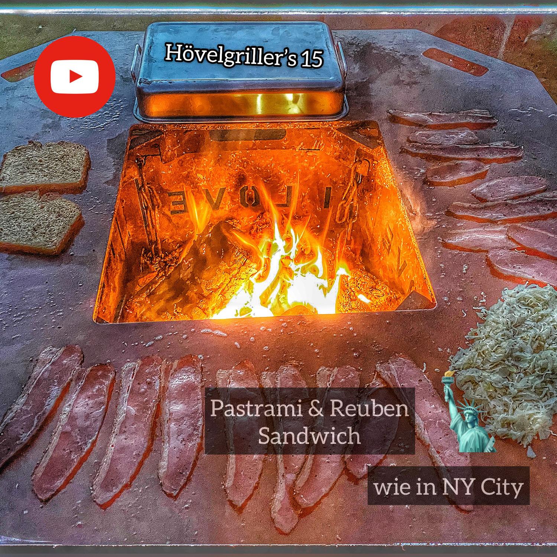 Pastrami und Reubensandwich wie in New York City