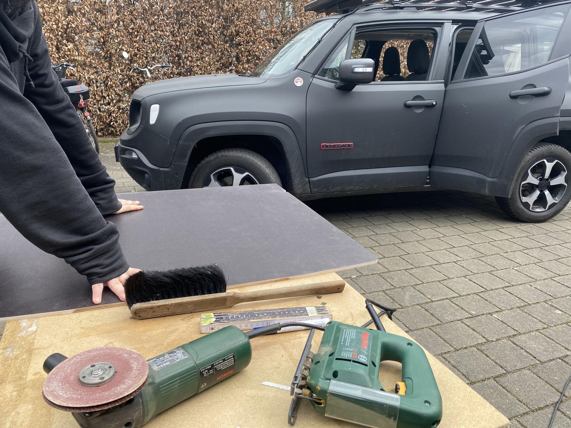 Innenausbau Jeep Renegade
