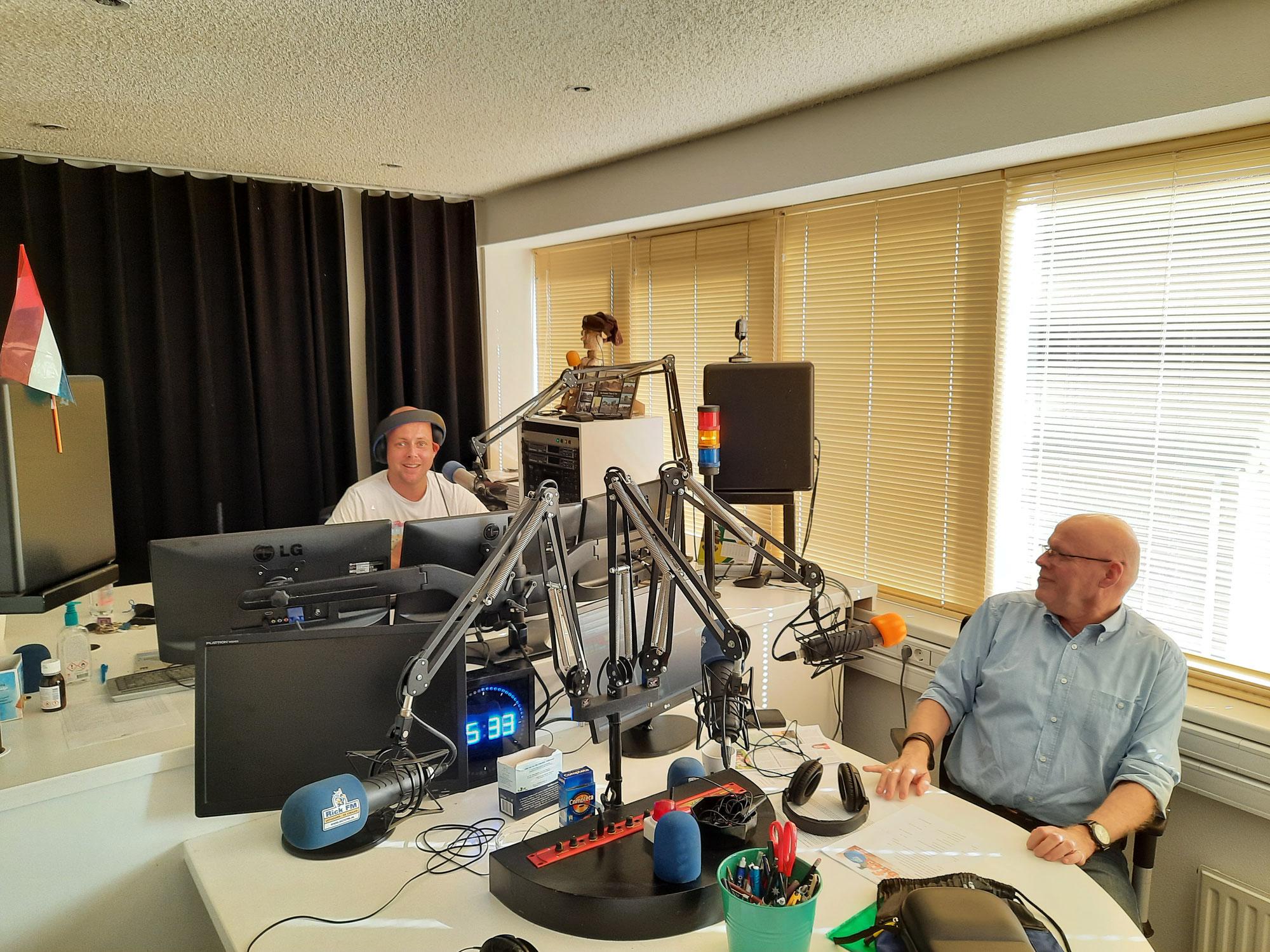 Radio interview!