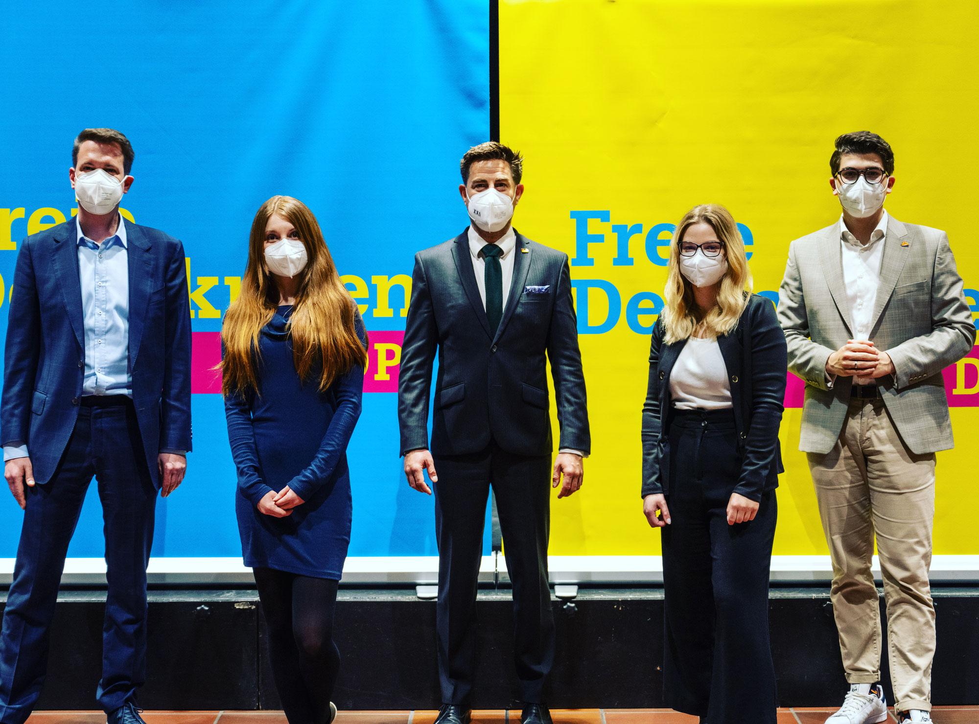 FDP stellt Kandidatinnen und Kandidaten zur Landtags- und Bundestagswahl auf