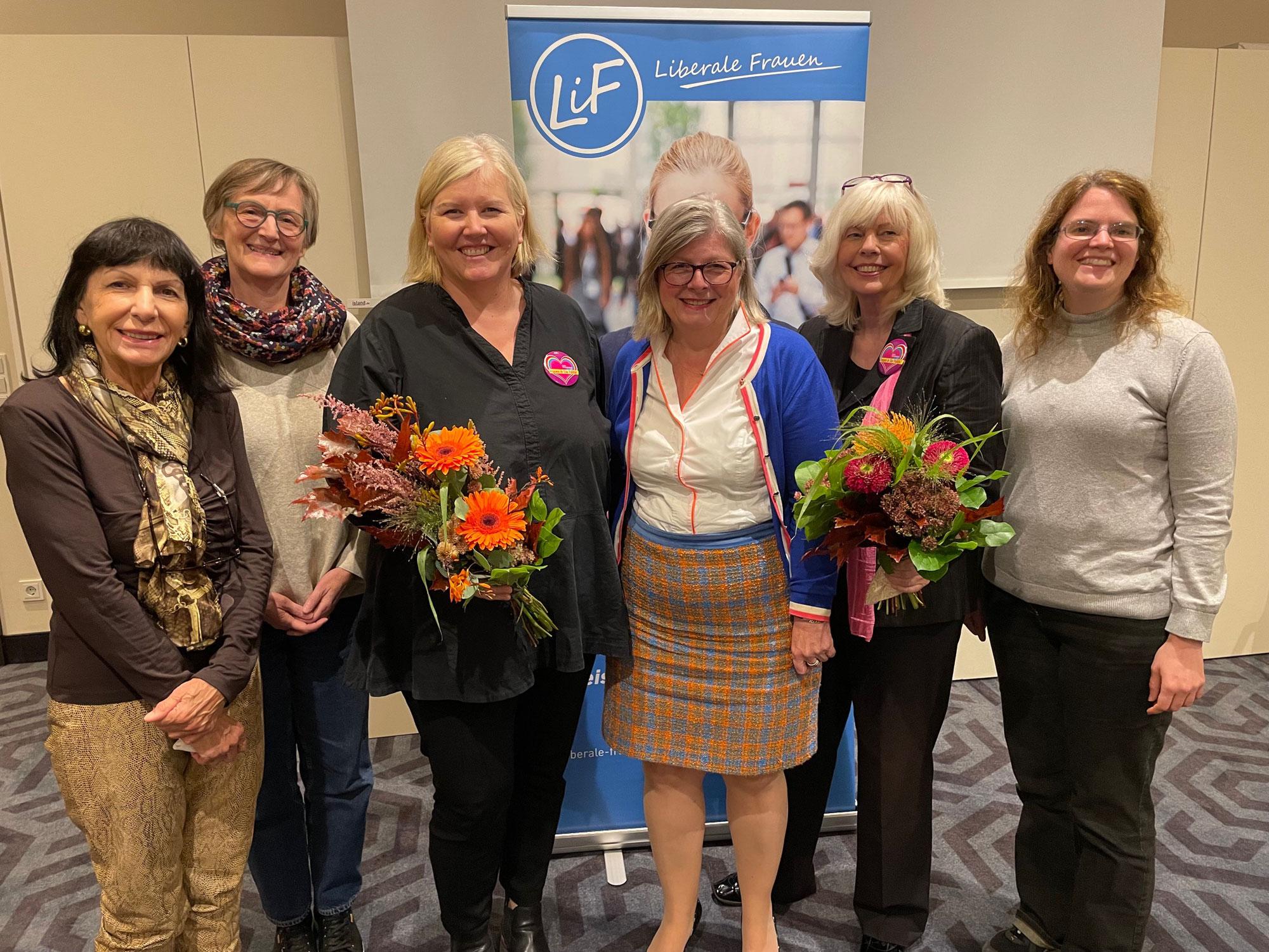 Liberale Frauen Dortmund wählen neuen Vorstand