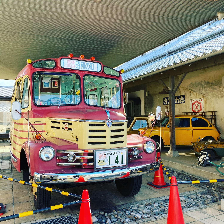 大分ローカルタレント観光|ボンネットバス