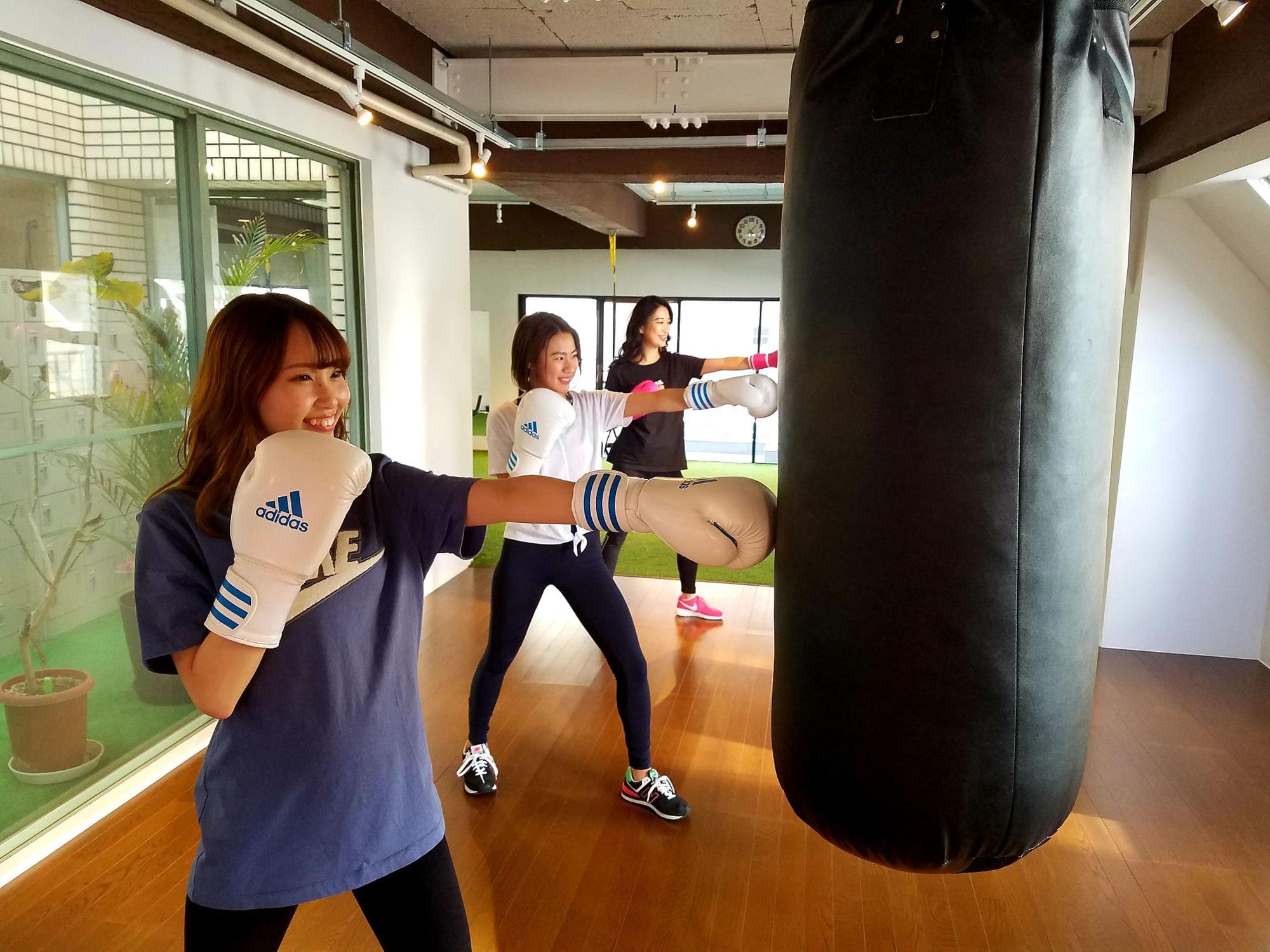 大阪の女性向けボクシングジム8選