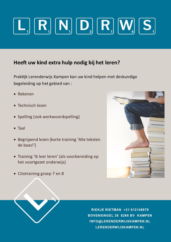 Aanbod Lerenderwijs Kampen