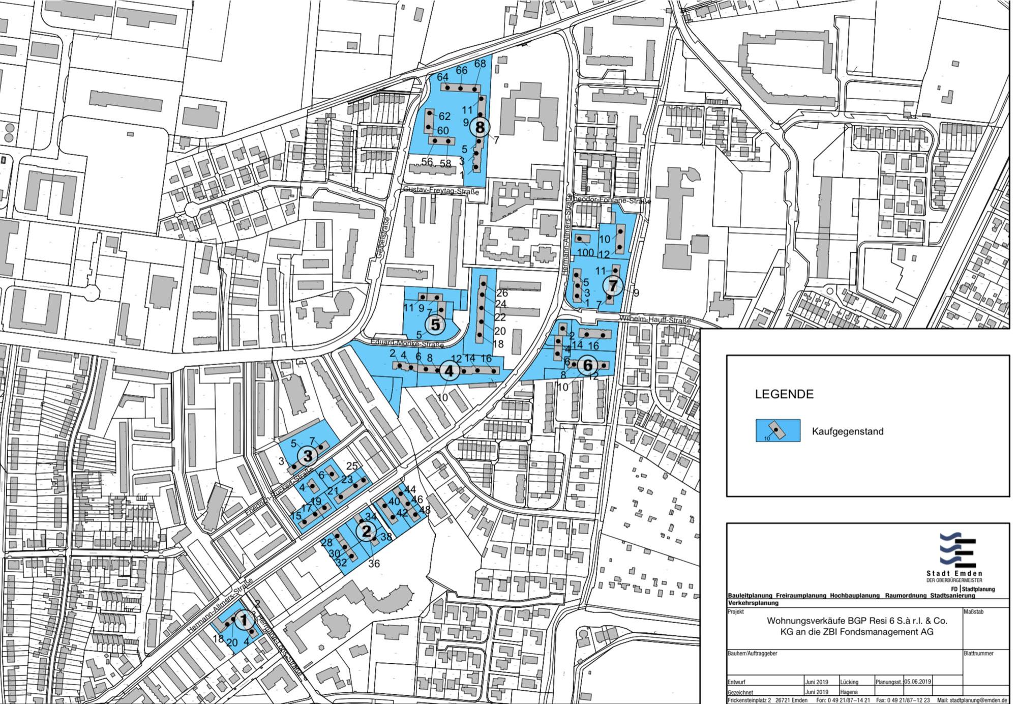 486 Wohnungen in Barenburg wechseln den Eigentümer