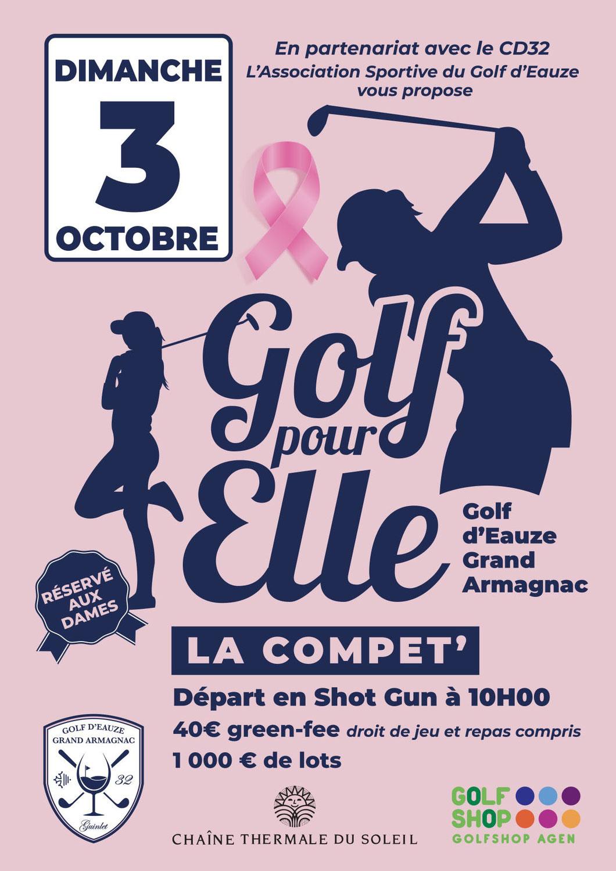 Golf Pour Elle - la compet'