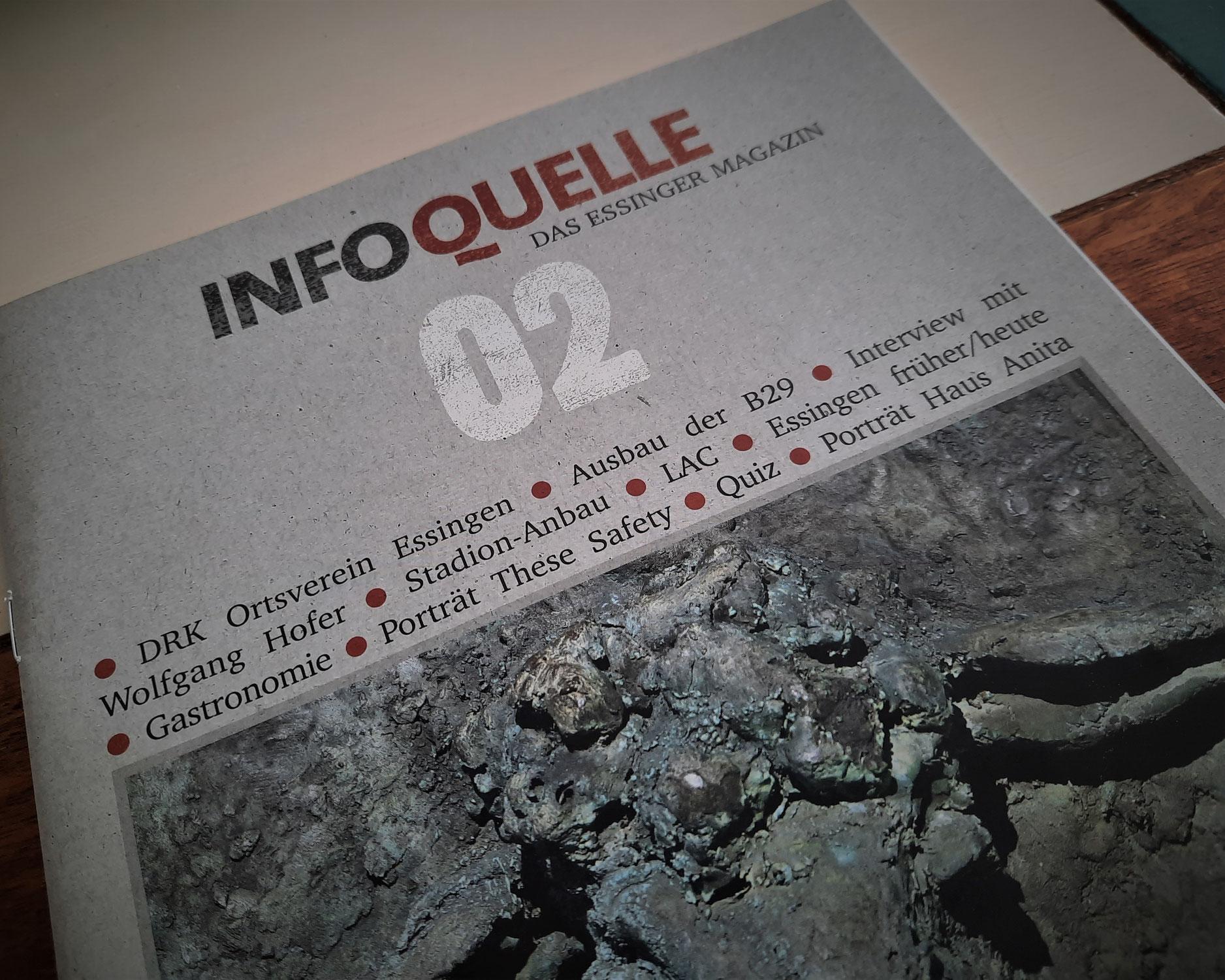 Zweite Ausgabe der Info-Quelle ist erschienen