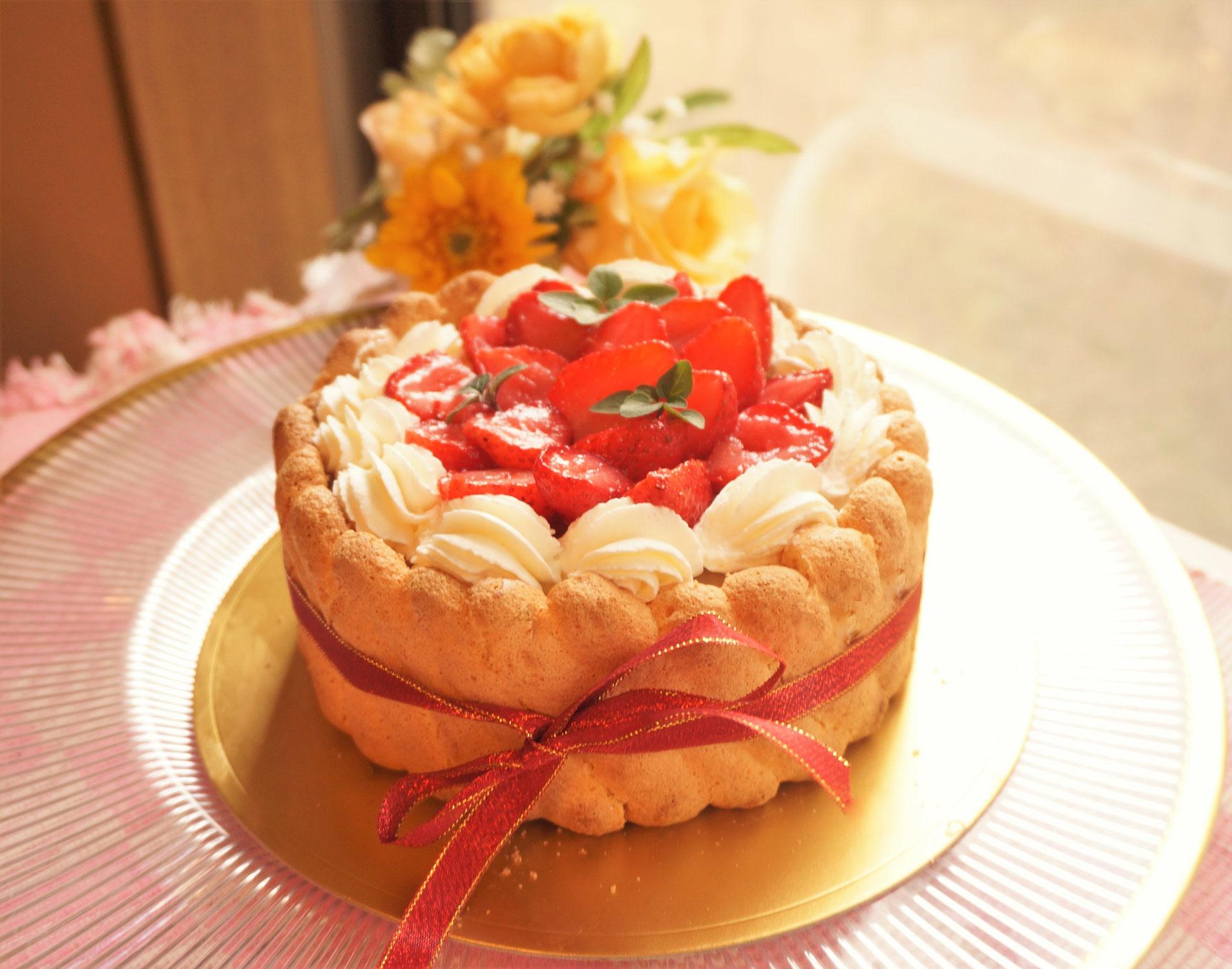スポンジケーキがふくらまないを解決します!低糖質スイーツ作り