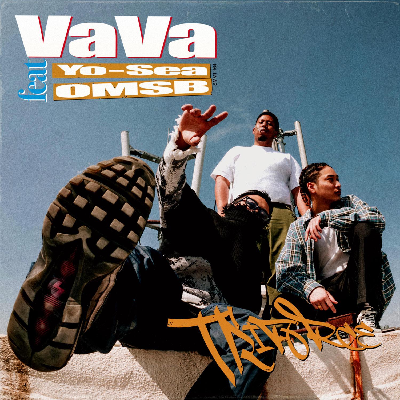 """4/16(金)VaVa """"Triforce feat. Yo-Sea, OMSB""""リリース。"""