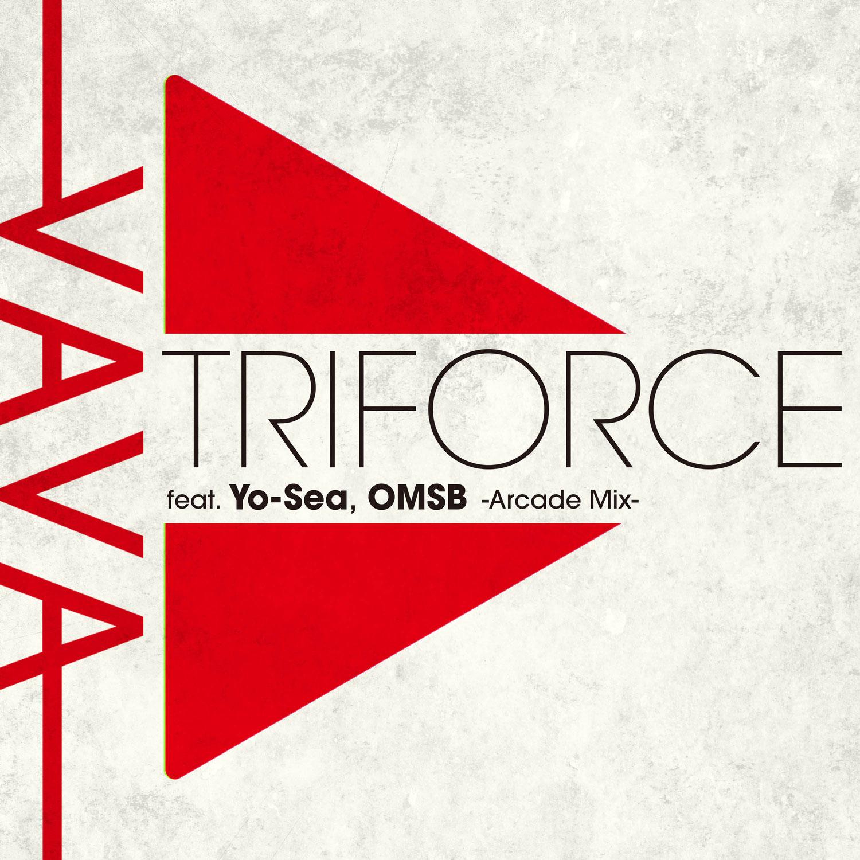 3/17(水)VaVa最新シングル『Triforce feat. Yo-Sea, OMSB -Arcade Mix-』リリース。