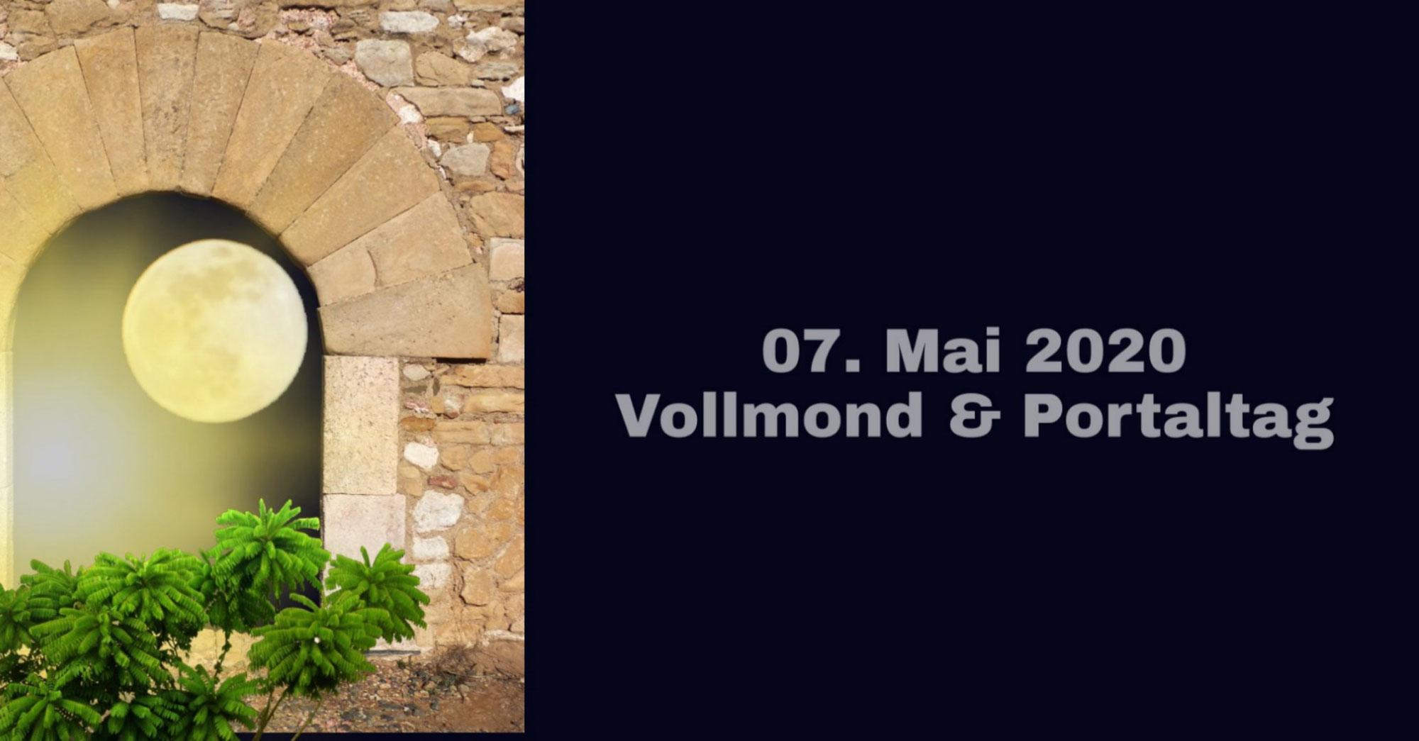 Vollmond-Portal-Tag