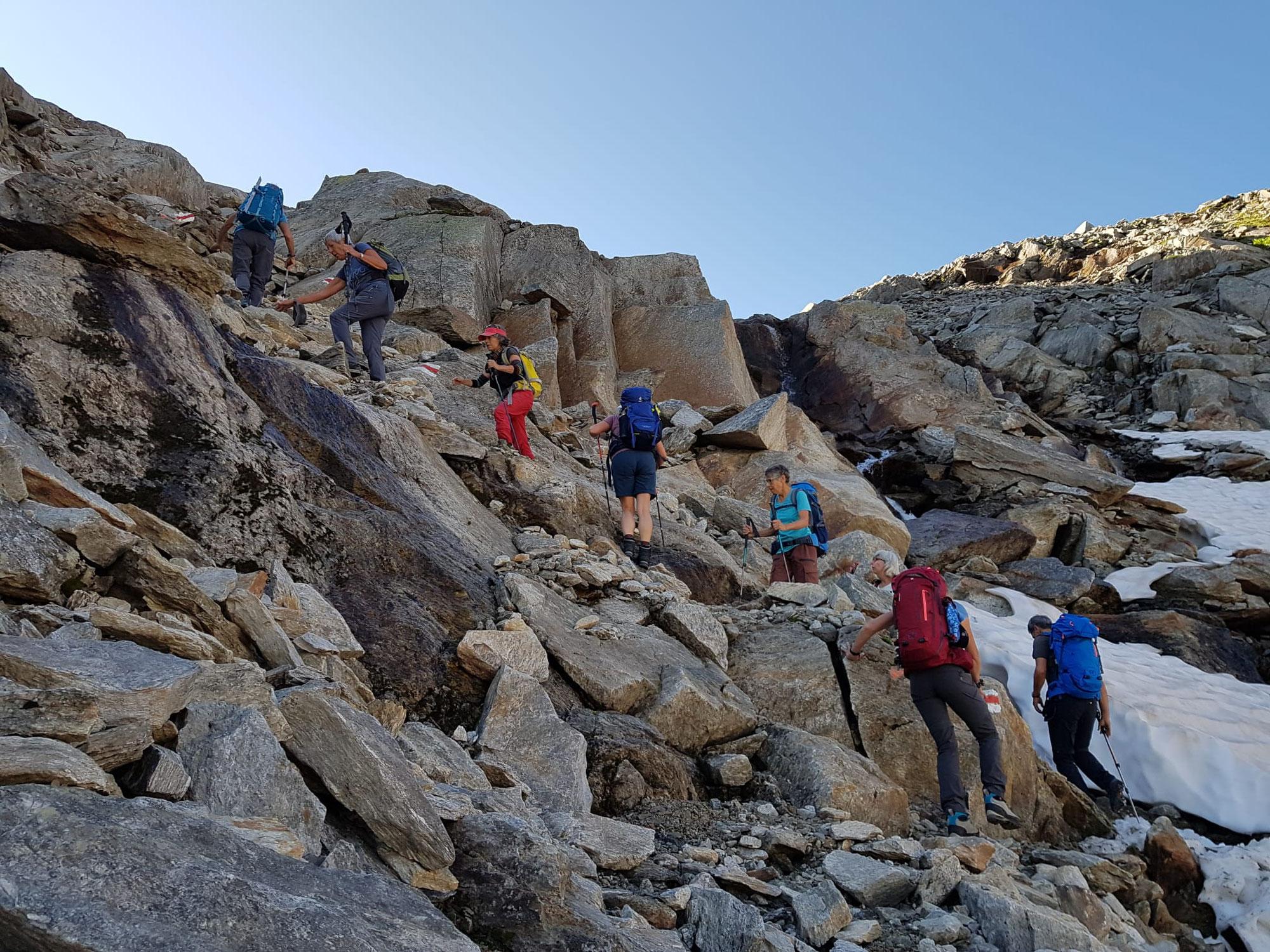 Alpine Wandertage 'Von der Furka zur Leventina' - 11.-14. August 2021