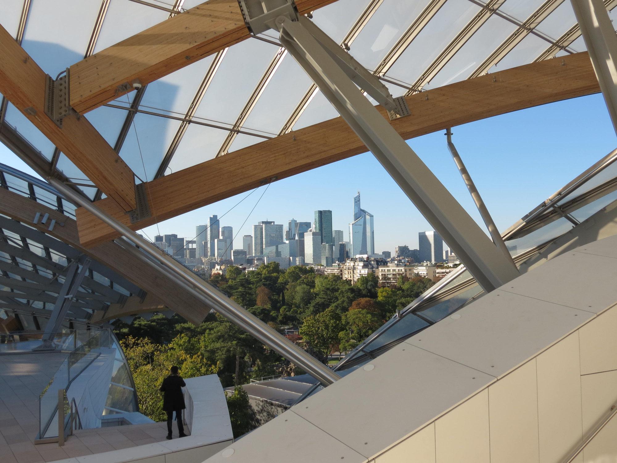 Impressions architecturales : la Philharmonie et la fondation Vuitton