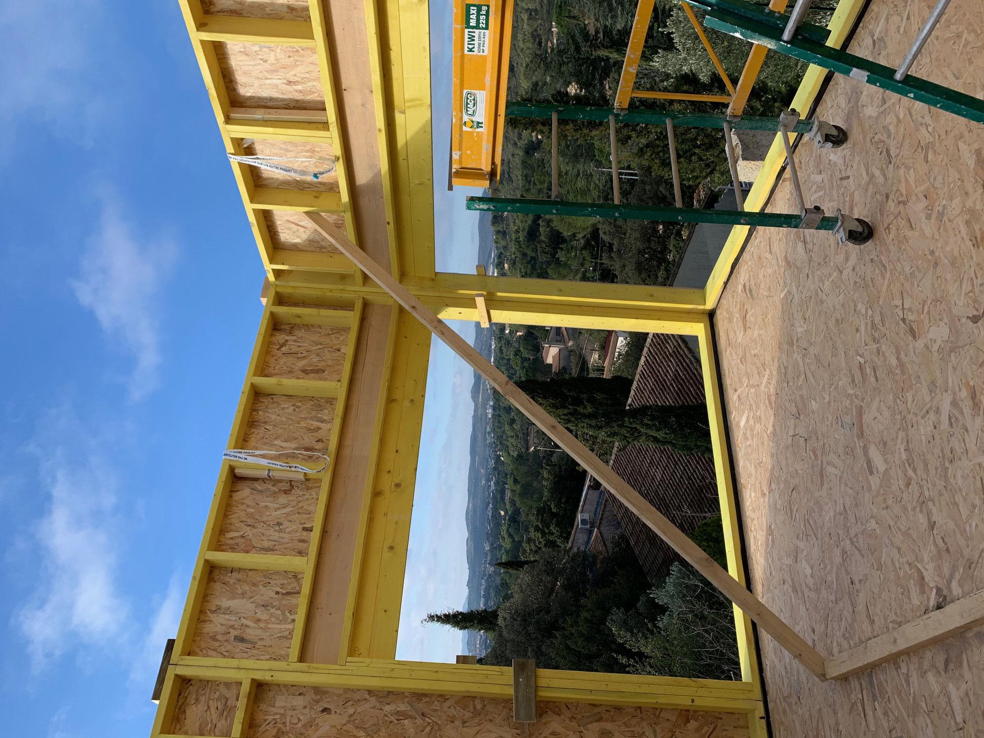 Maison ossature bois Villeneuve Les Avignon