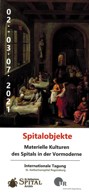 "Tagung 2021:  ""Spitalobjekte"""