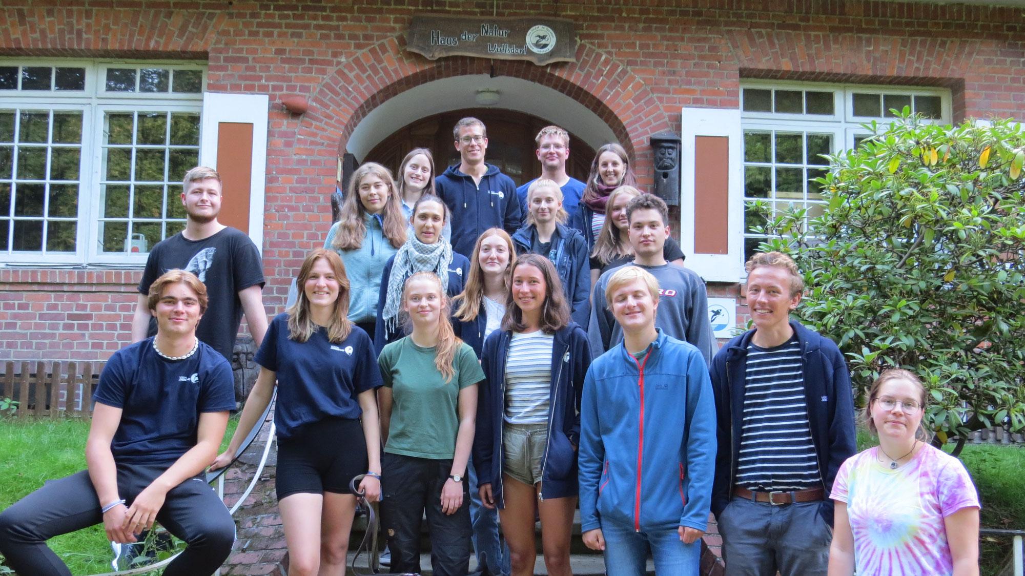 Neue Freiwillige beim Verein Jordsand starten in die Saison 2021/2022