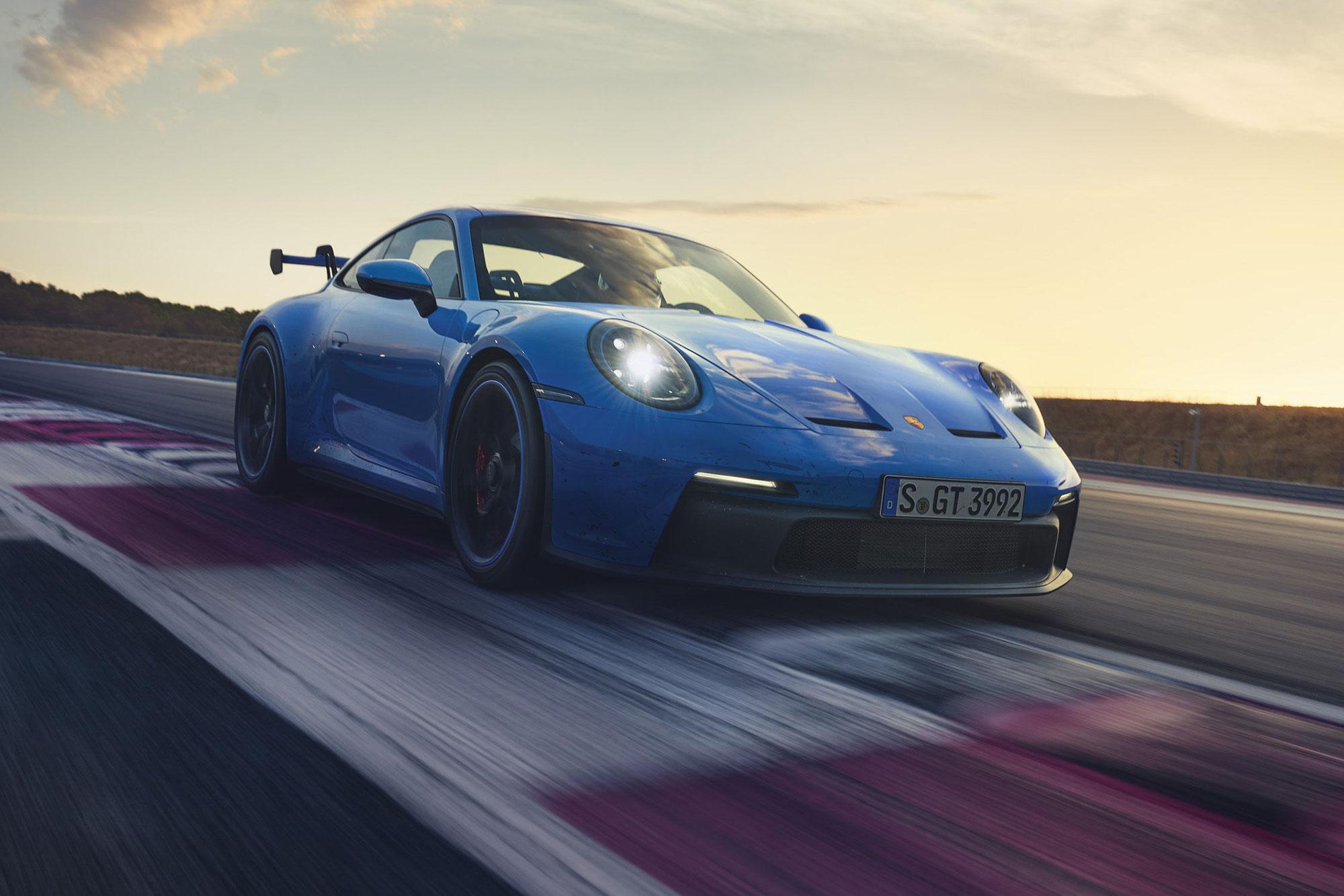 Porsche : la nouvelle 911 GT3 est là !