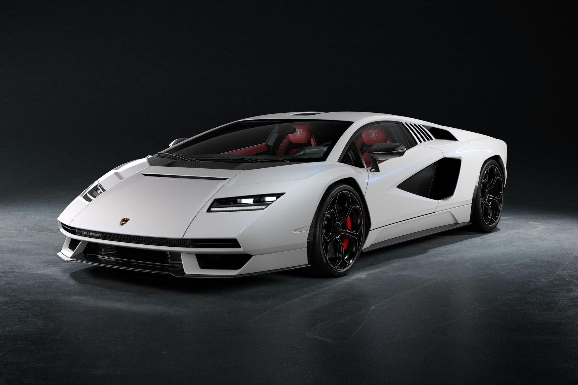 Lamborghini Countach LPI 800-4 : Retour vers le futur !