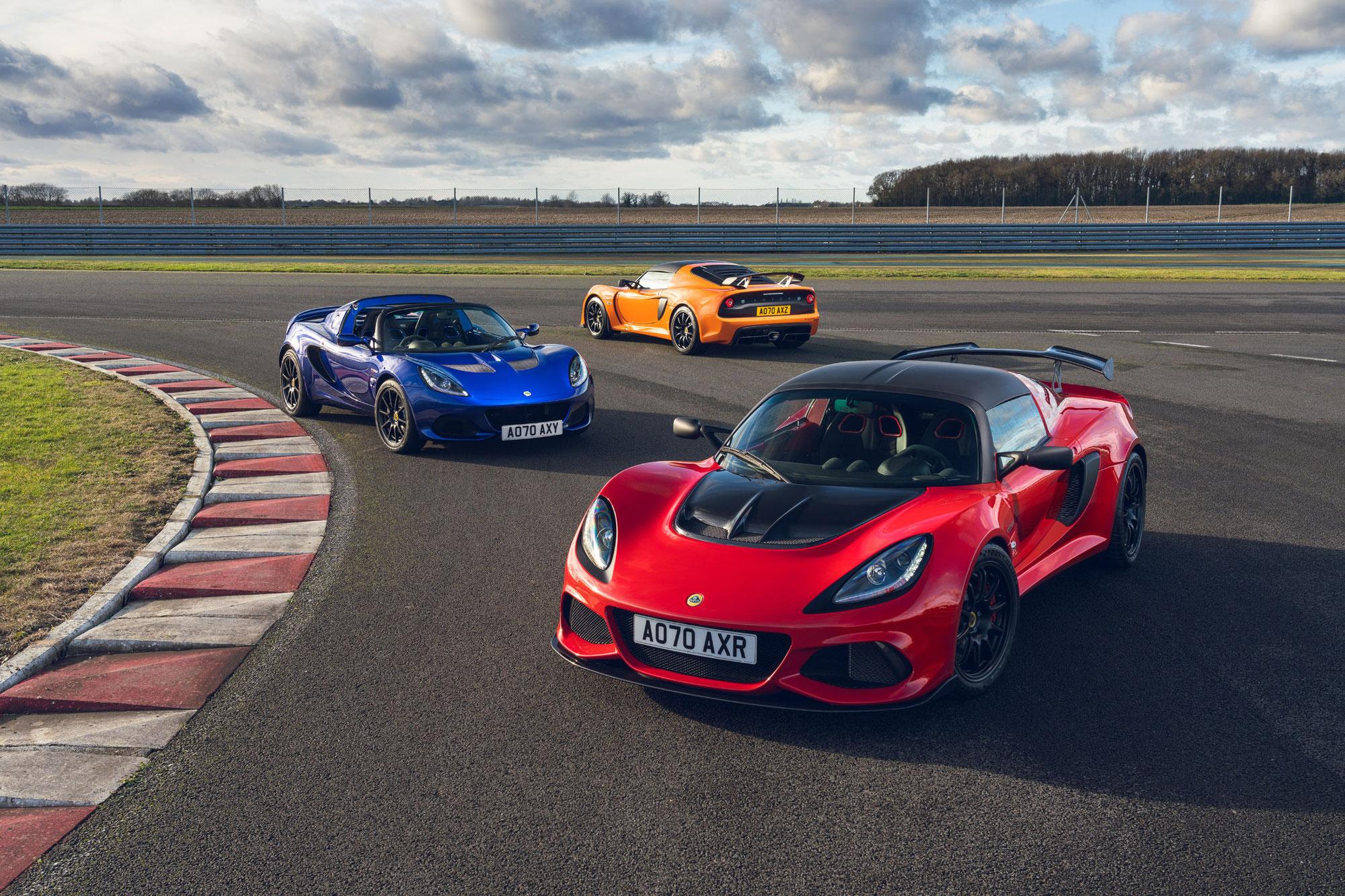 Lotus Elise et Exige Final Edition