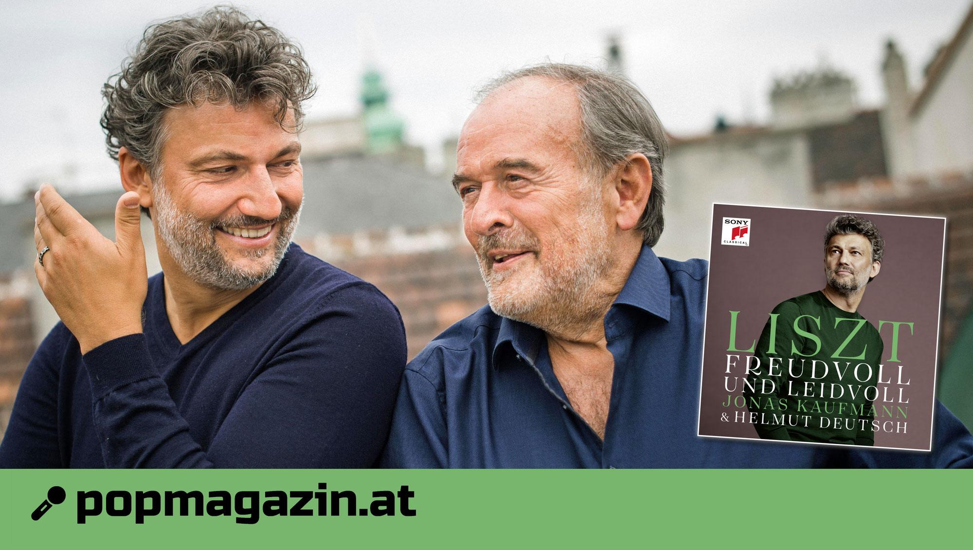 """""""Freudvoll und leidvoll"""": Jonas Kaufmann & Helmut Deutsch interpretieren Franz Liszt neu"""