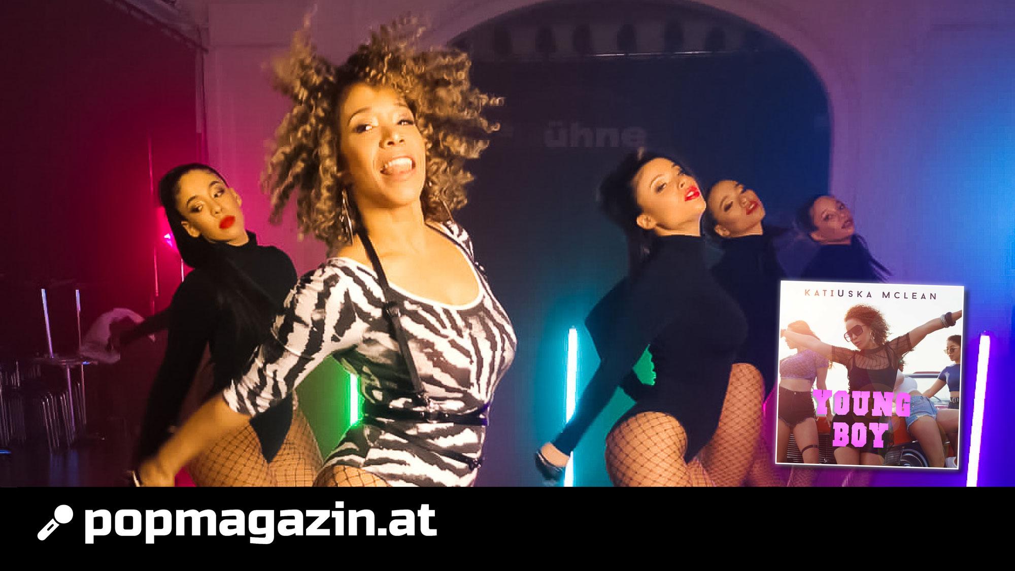 """Supertalent-Teilnehmerin Katiuska McLean als Solokünstlerin mit ihrem neuen Song """"Young Boy"""""""