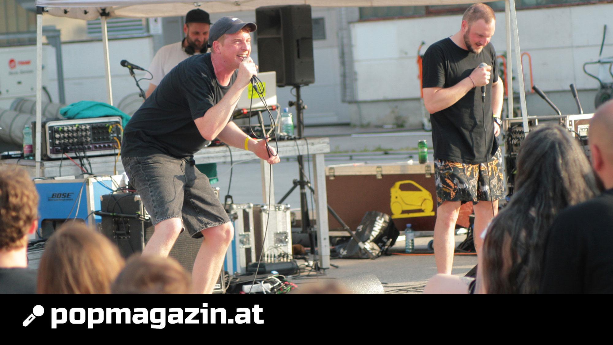 FOTOS: Monobrother @ Baulücken-Konzert in der Brigittenau / 20.06.2021
