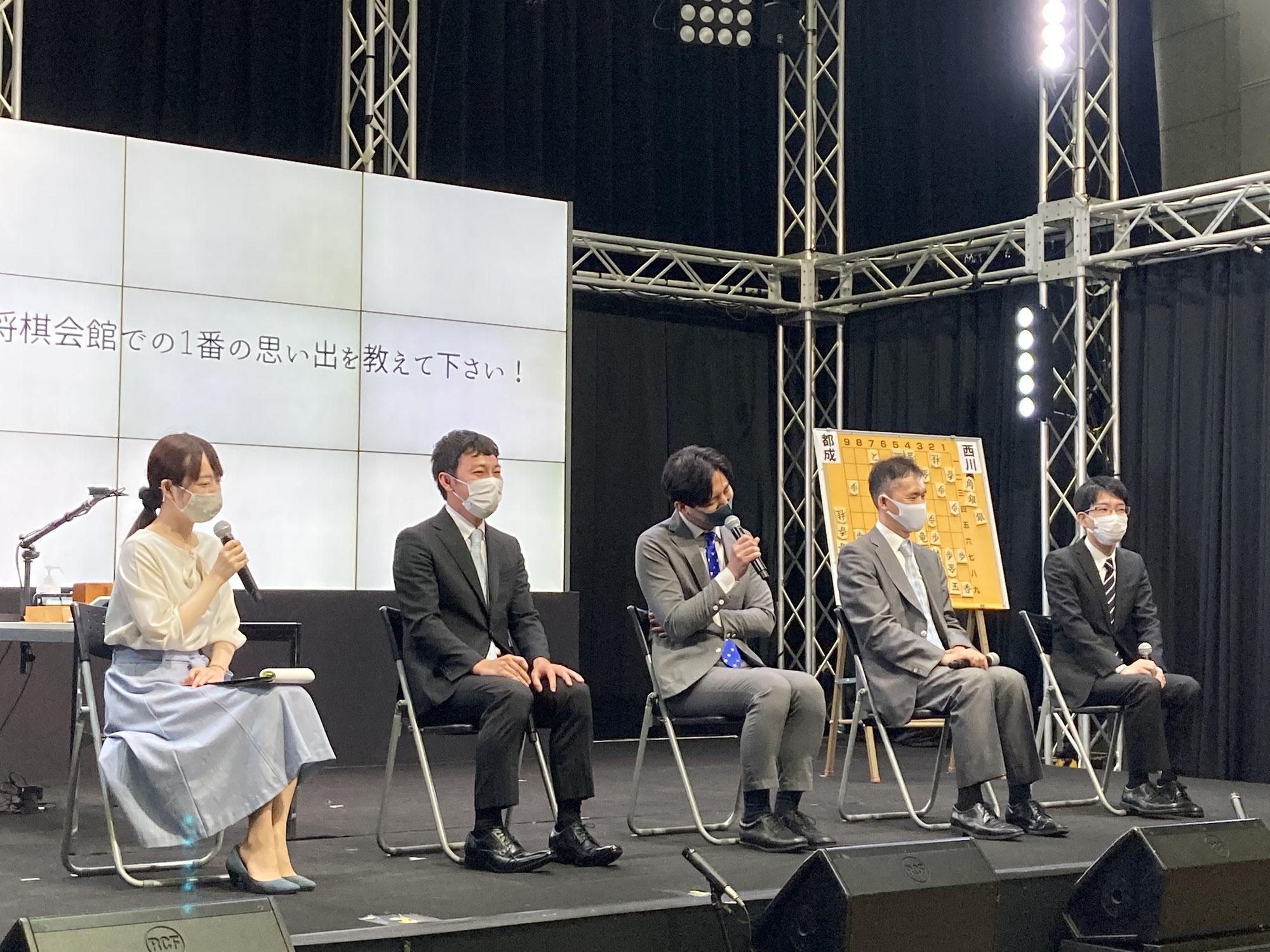 「関西将棋フェスティバルinMBS~オンラインで見れますよ!~」2日目開催報告