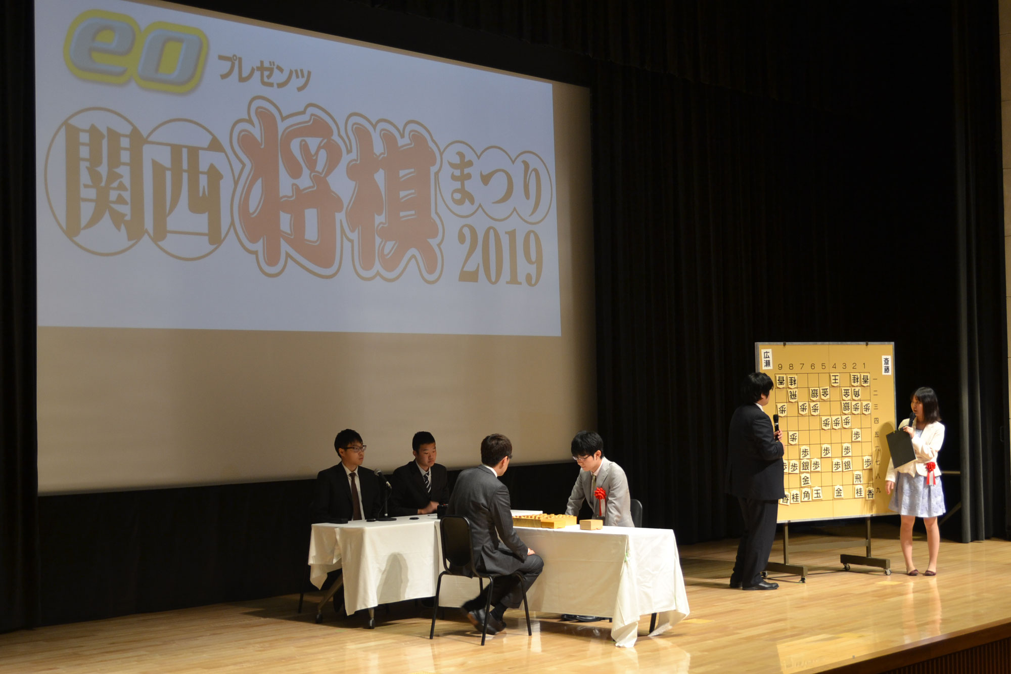 eo presents 関西将棋まつり(席上イベント)