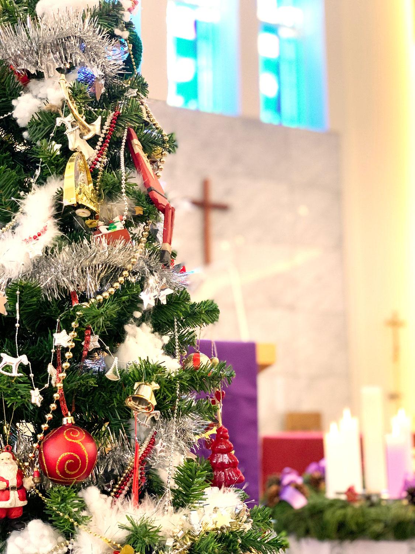 クリスマスイヴ・クリスマス礼拝のご案内