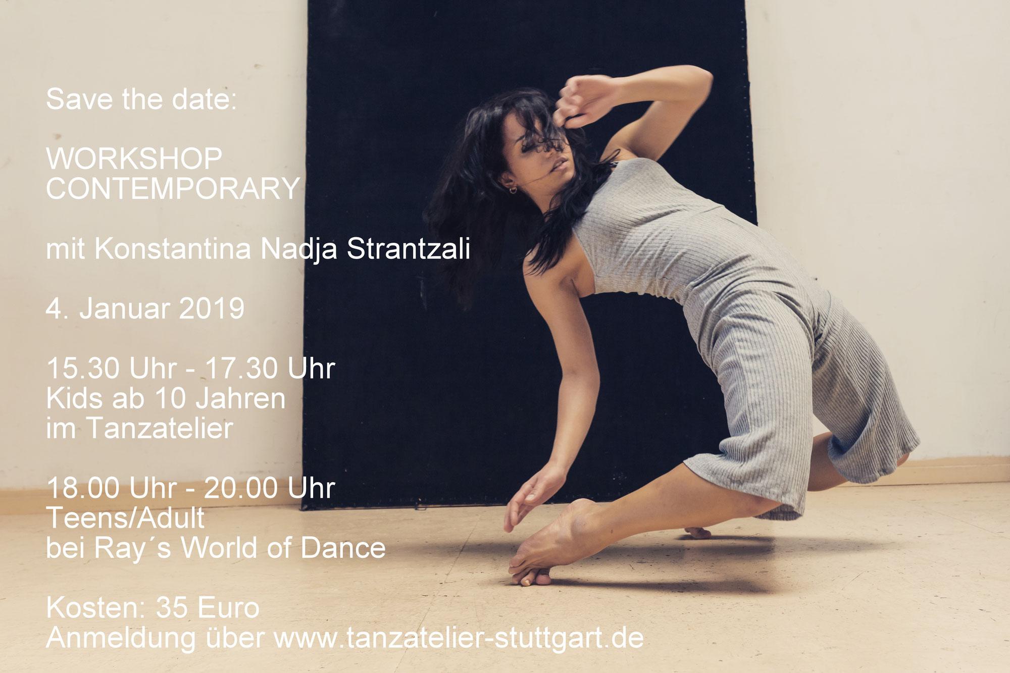 Workshop mit Nadia Strantzali Jan. 2019