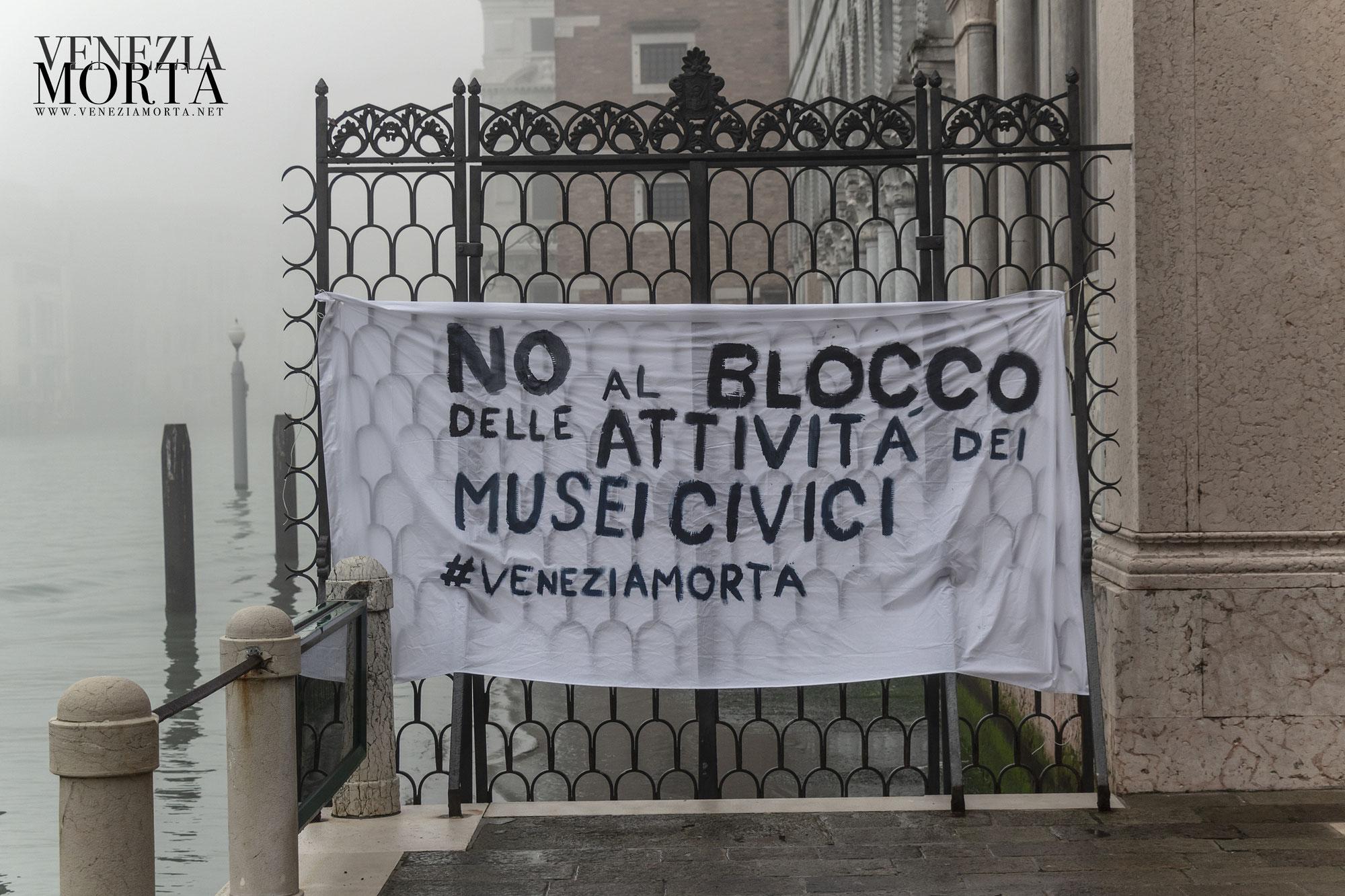 Musei Civici di Venezia bloccano la cultura: quindi i Dirigenti si bloccano anche lo stipendio?