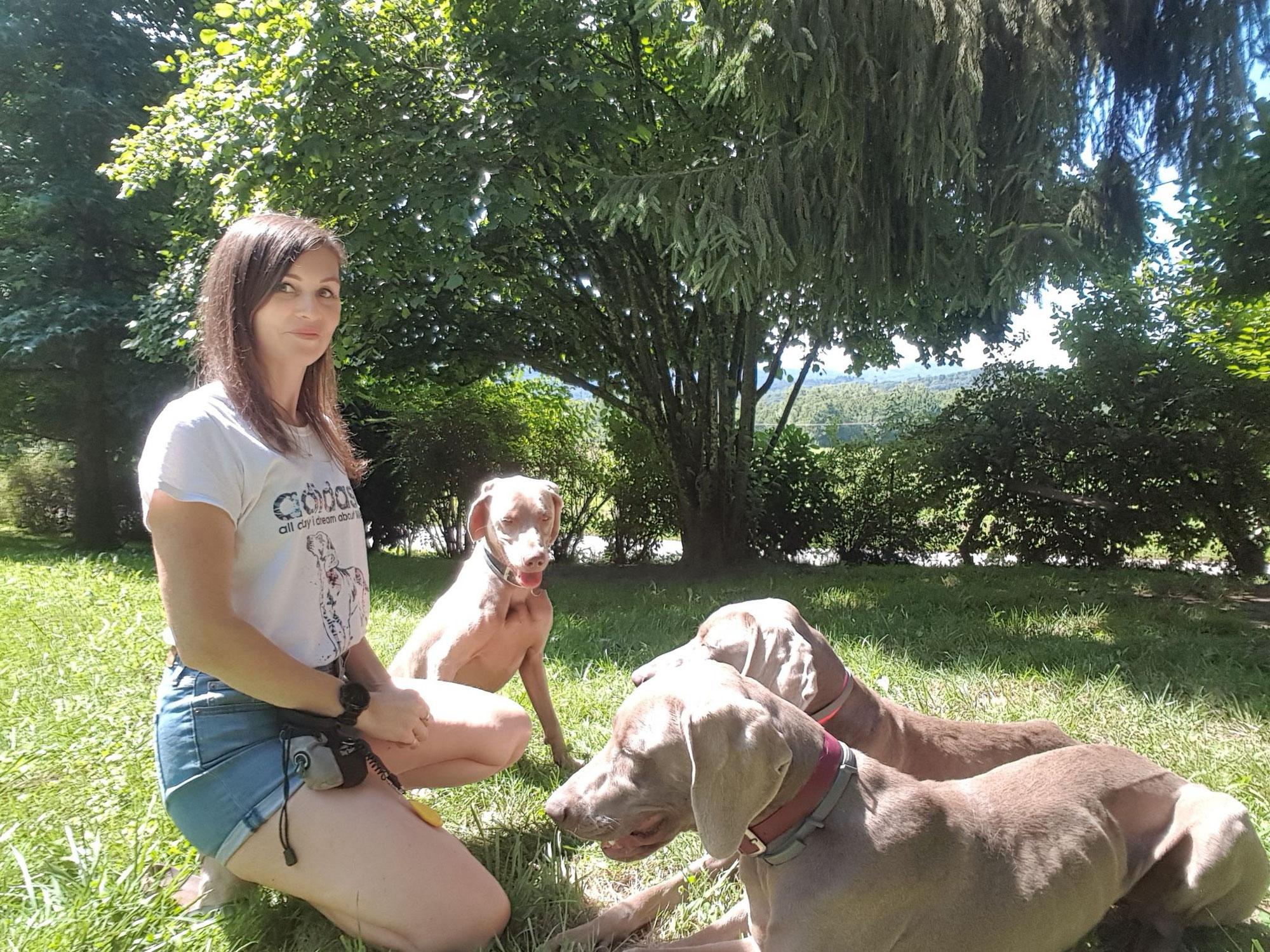 Devenir éducateur canin: le parcours de Emmanuelle de CYNONYX