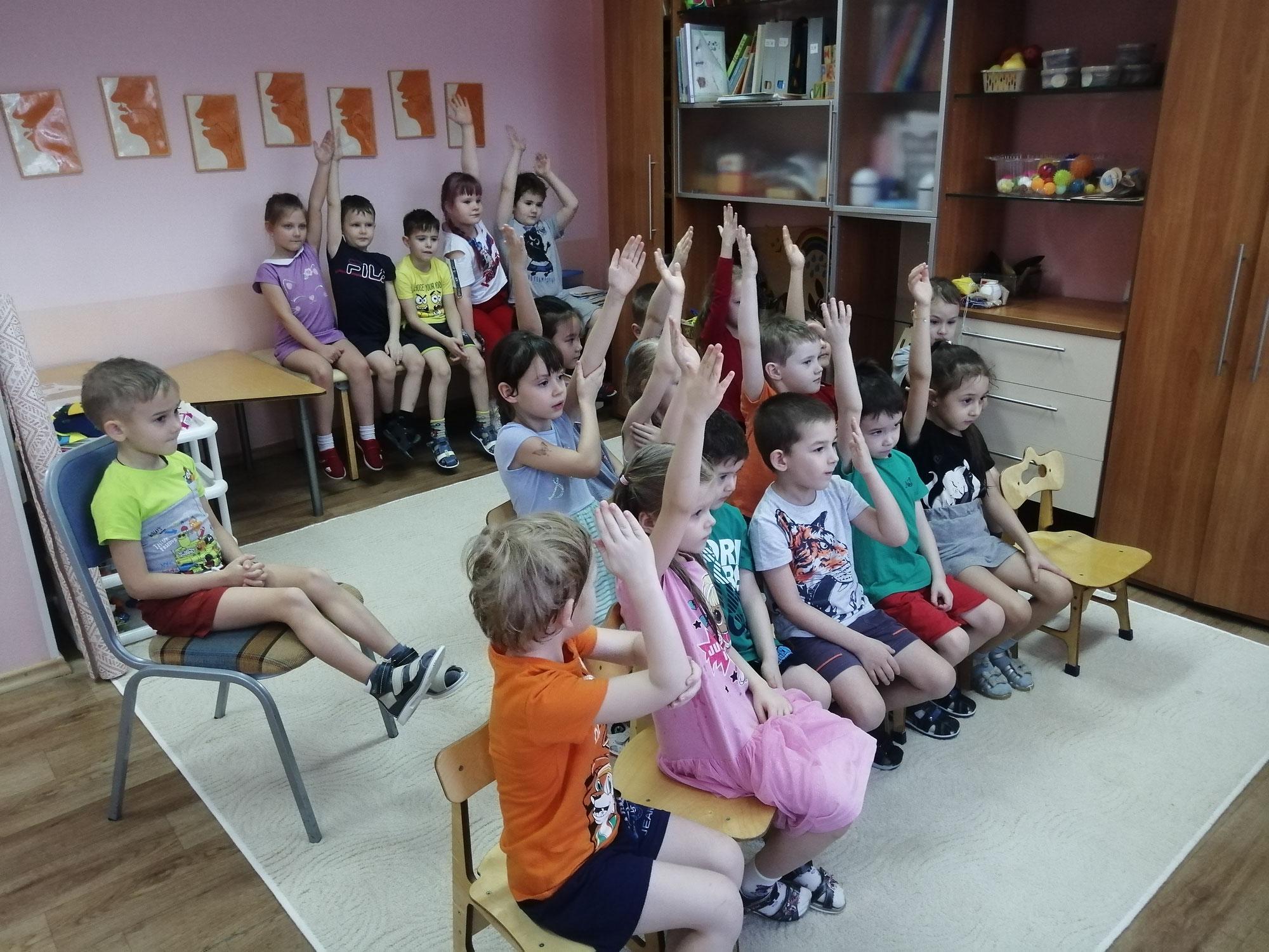 Знакомство детей с русскими народными сказками в рамках литературно – познавательного проекта «О чем речь?!»