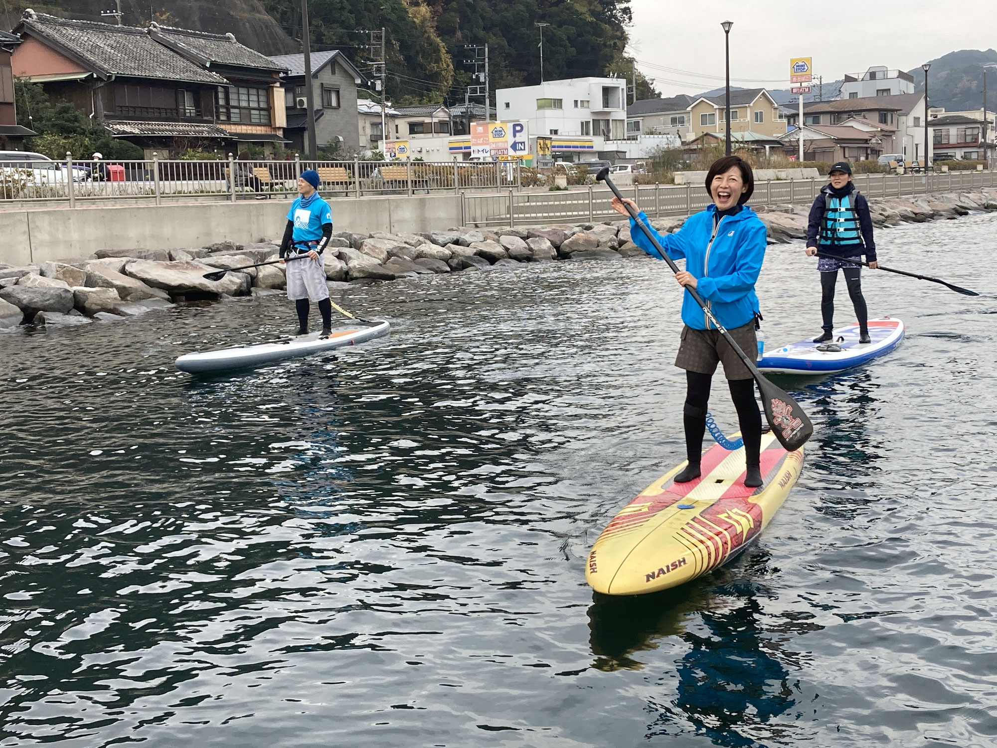 たたら浜〜浦賀SUPツアー