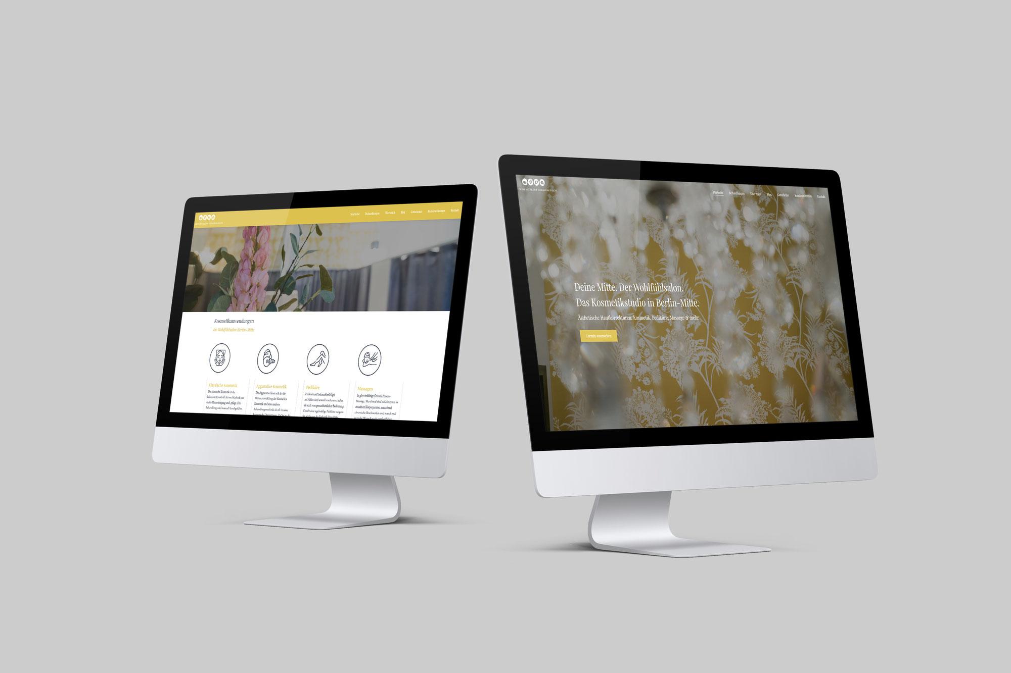 Meine neue Webseite ist online