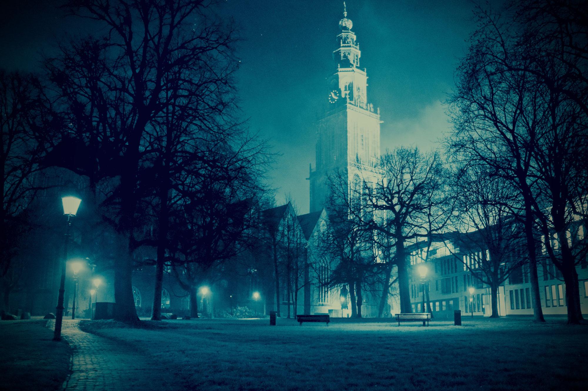Zaterdagavond in Groningen