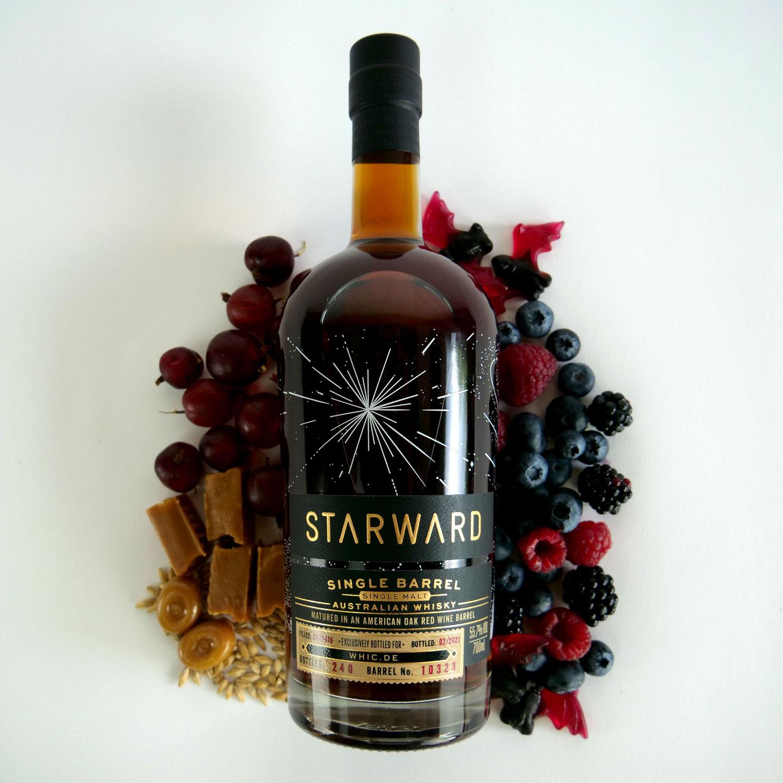 STARWARD 2016/2021, 4Y, Single Barrel (bottled for whic.de)