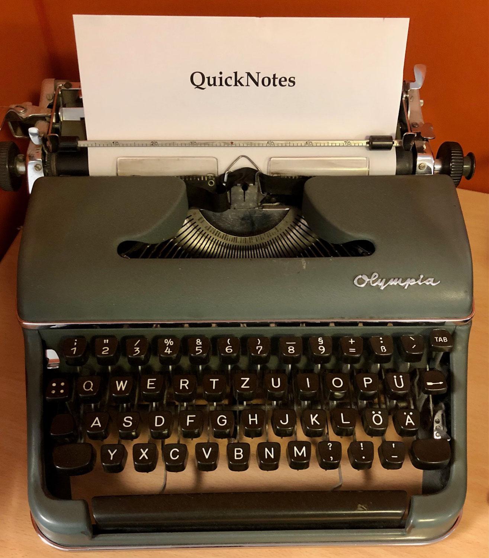 QuickNotes: Springbank 12 - Green