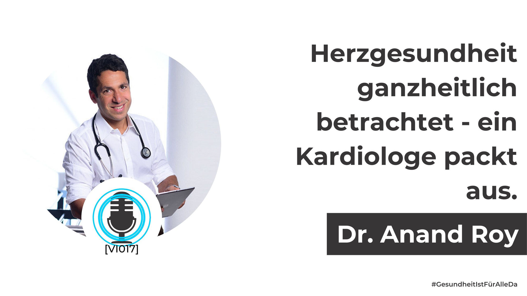 Dr. Anand Roy.