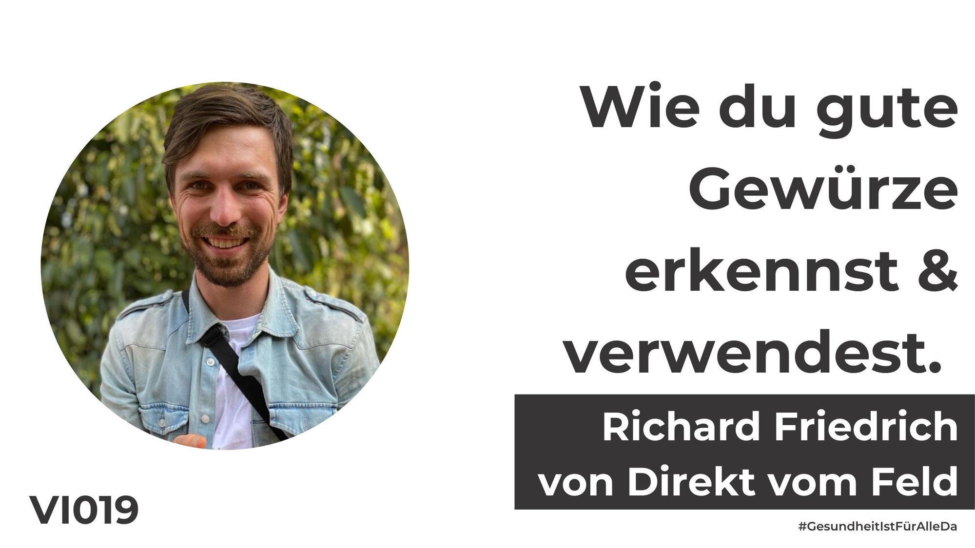 Richard Friedrich von Direkt vom Feld