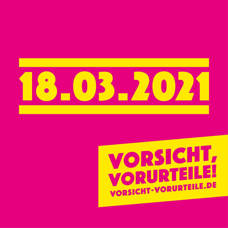 """Aktionstag """"Vorsicht, Vorurteile! Wir setzen ein Zeichen gegen Rassismus"""""""