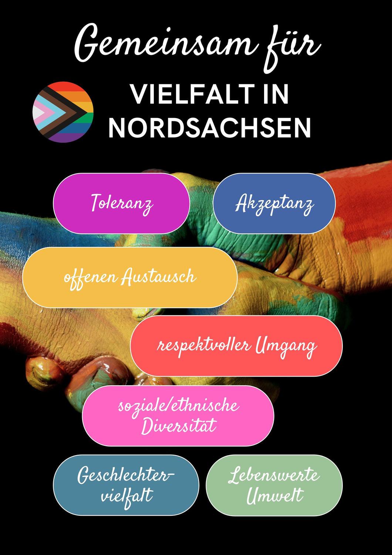 Vielfalt in Nordsachsen- ein Gemeinschaftsprojekt