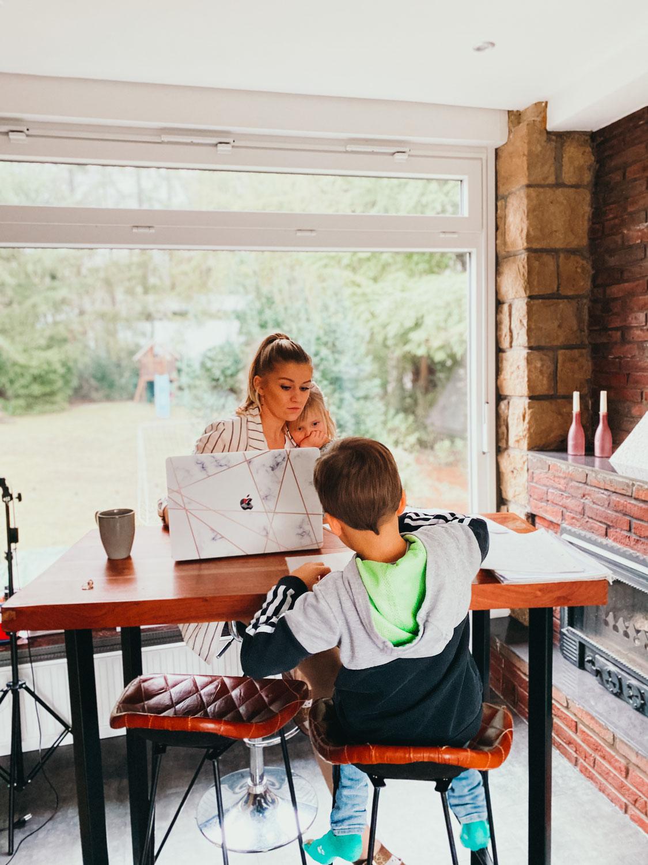Zuhause Arbeiten oder Selbstständig als Mama