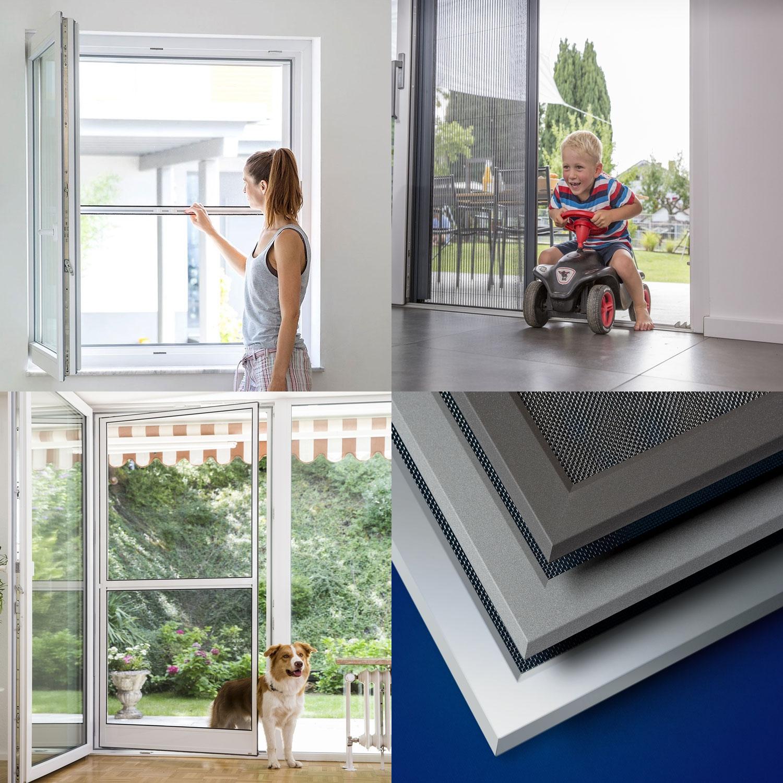 Neher Insektenschutz - für Fenster, Türen und Lichtschächte