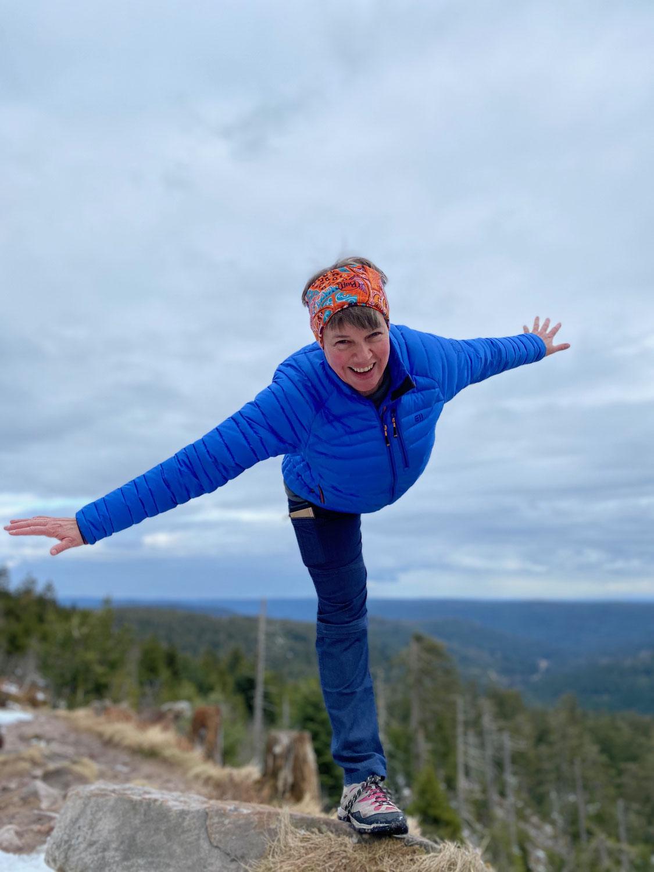 Der Weg zur richtigen Balance -  Das richtige Maß finden für Bewegung, Entspannung und Genuss