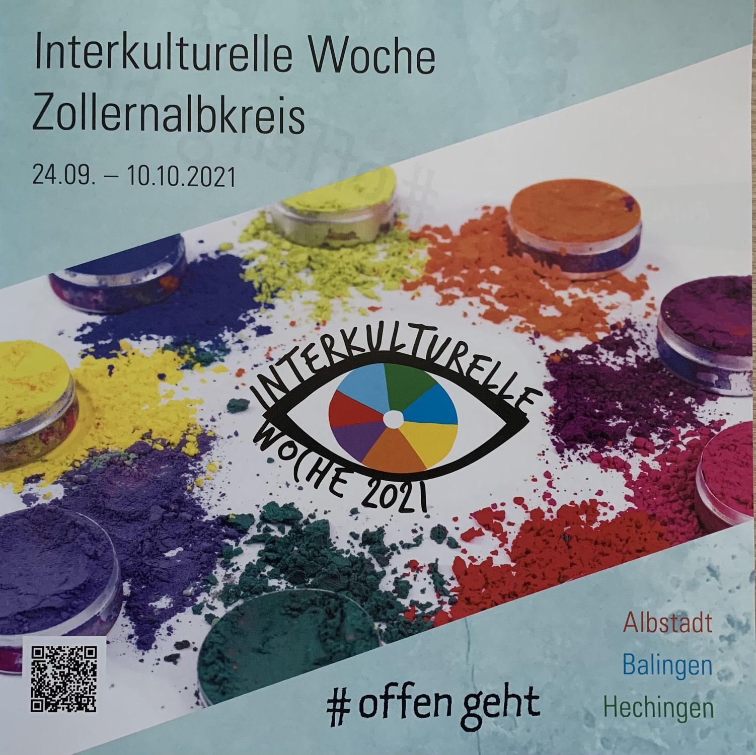 Interkulturelle Wochen vom 24. September bis 10. Oktober 2021