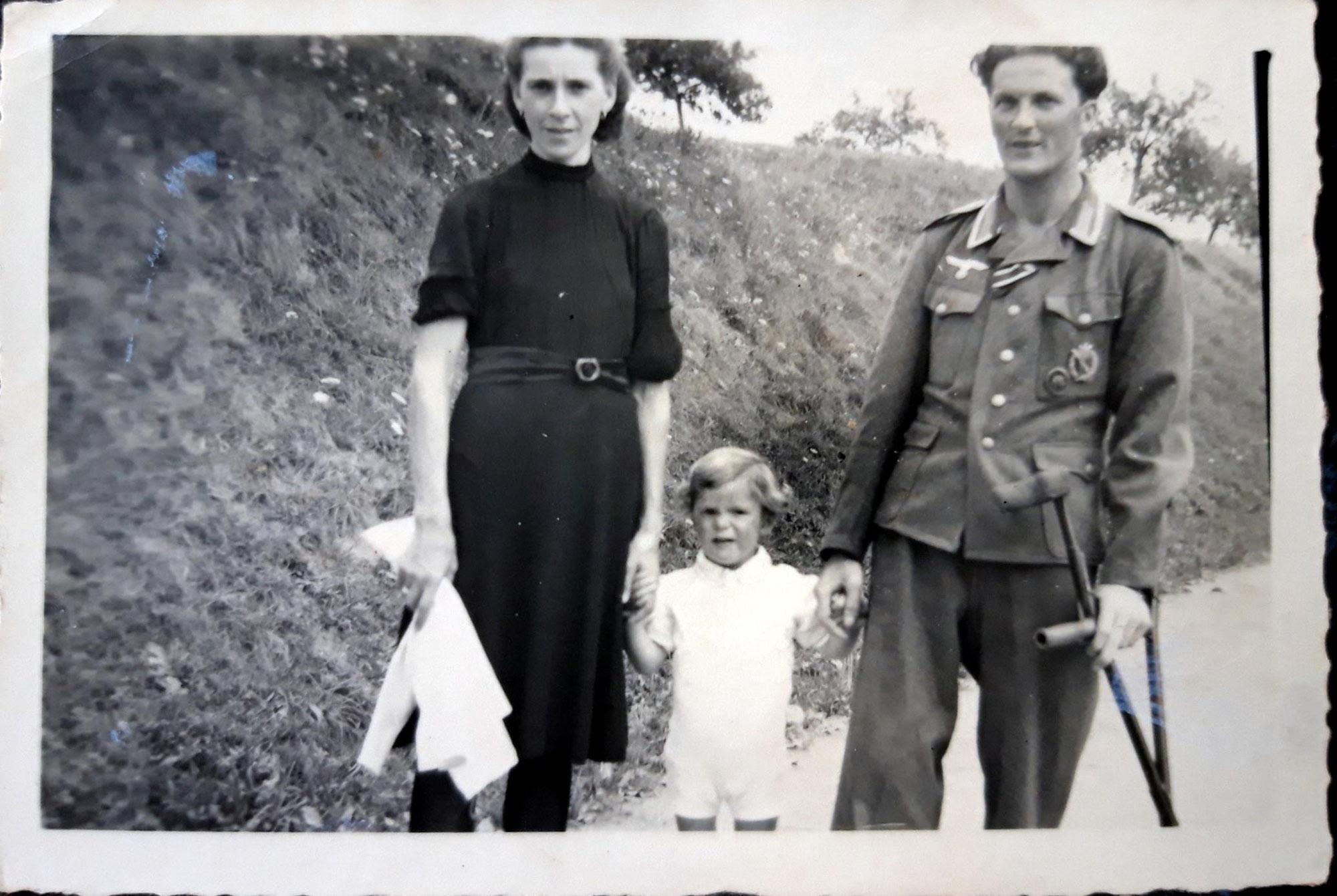 Michelle, 11 Jahre alt und ihre Verbindung zu Gertrud (♰1945)