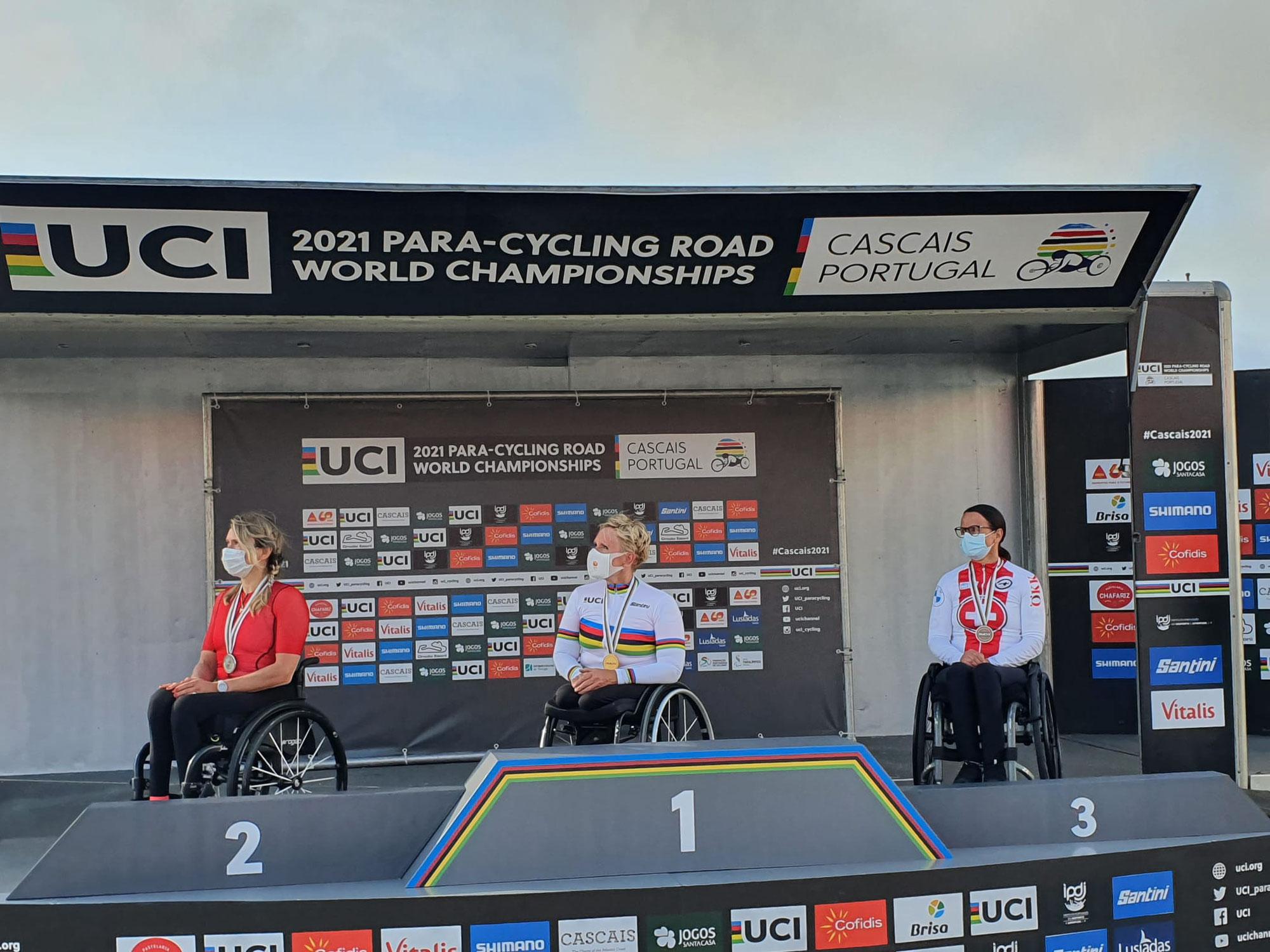 Zeitfahren Paracycling WM Cascais, Portugal