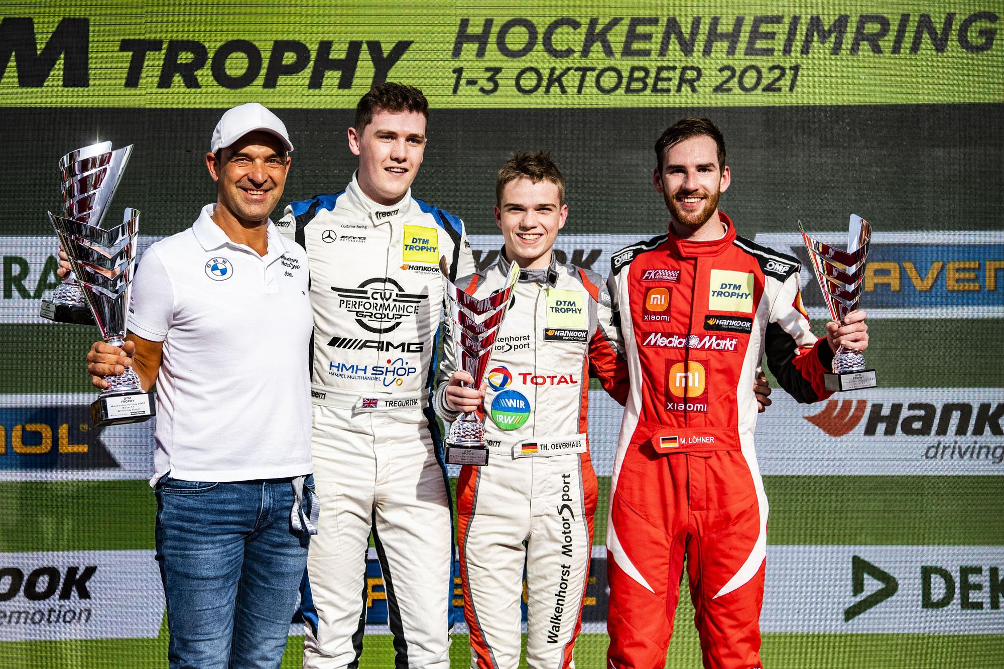 Premierensieg in der DTM Trophy: 16-jähriger Theo Oeverhaus gewinnt in Hockenheim – dramatische Wende im Titelkampf